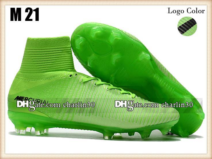 Verkauf Mercurial Superfly CR7 Fußballschuhe Cristiano Ronaldo Neue Fußballschuhe Weißgold Mercurial Superfly Neymar V FG AG Fußballschuhe