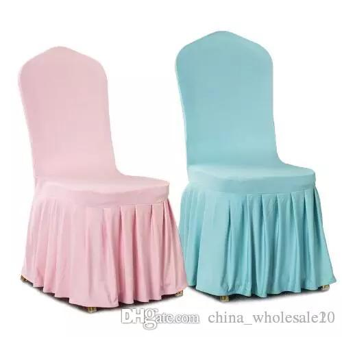 Superb Factory Direct Aqua Colour Lycra Chair Cover With Skirt All Around The Chair Bottom Spandex Skirt Cover For Wedding Party Decoration Aji 653 Andrewgaddart Wooden Chair Designs For Living Room Andrewgaddartcom