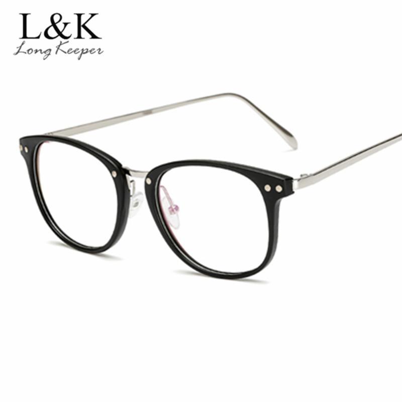 Acheter LongKeeper 2018 Marque Lunettes Optiques Cadre Noir Femmes Hommes  Top Qualité Ordinateur Lunettes Ronde Femmes Transparent Spectacle De   25.56 Du ... 8c1ea9637997