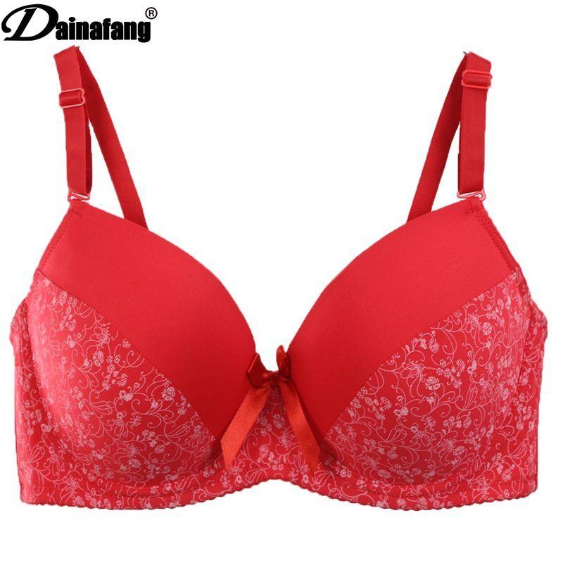 3f2b87bc97a 2019 2018 New 38 40 42 44 46 48 50 DD E F Cup Sutia Large Size Women  Underwear Bra