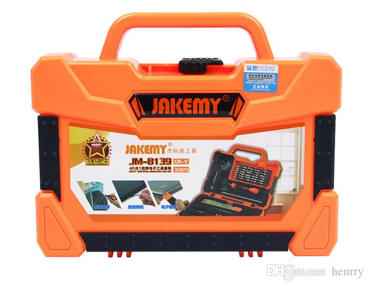 JAKEMY JM-8139 45 In 1 Precise Screwdriver Set Repair Kit Opening Tools For Cellphone Computer Car Electronic Maintenance
