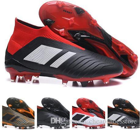 Kids Women Predator 18+ 18.1 FG Soccer Cleats Chaussures De Football ... 37eb5d7fcee3c