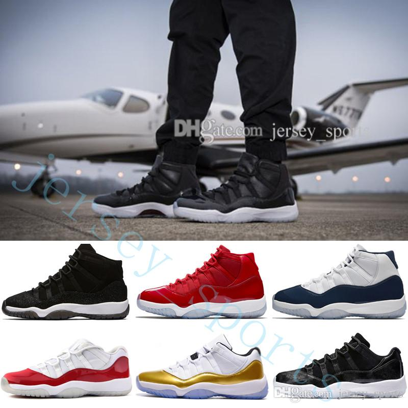 78cc837a82c4 2018 Cheap 11 XI Gym Red GS Midnight Navy Space Jam 45 BRED ...