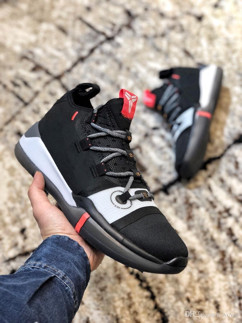 0b736e807b13 With Box Kobe AD Mamba Day A.D. EP Sail Multi Color Mens Basketball Shoes  AV3556 100 Kobe Bryant React Zoom Sports Sneakers Shoes Sale Sneakers Shoes  From ...