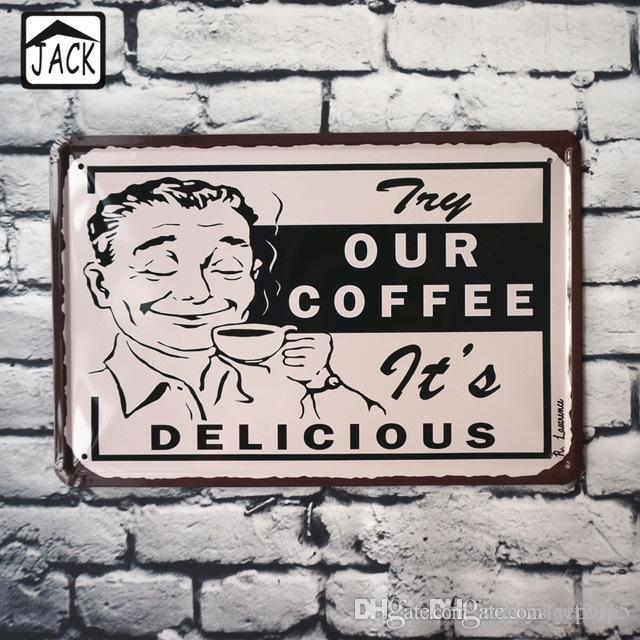 Compre Nuestro Cafe Tt Delicioso Vacaciones Decoracion Etiqueta De