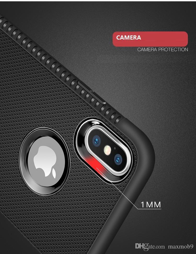 새로운 아이폰 11 PRO XR XS MAX X 6S 7 8 플러스 TPU 부드러운 고무 실리콘 핸드폰 케이스 슬림 삼성 S8 S9 S10 용 커버 플러스 주 8 9 고급