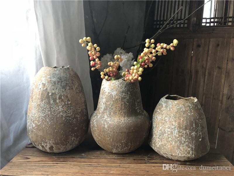 New Creative Designer White Glaze Flower Vases Homedecoration