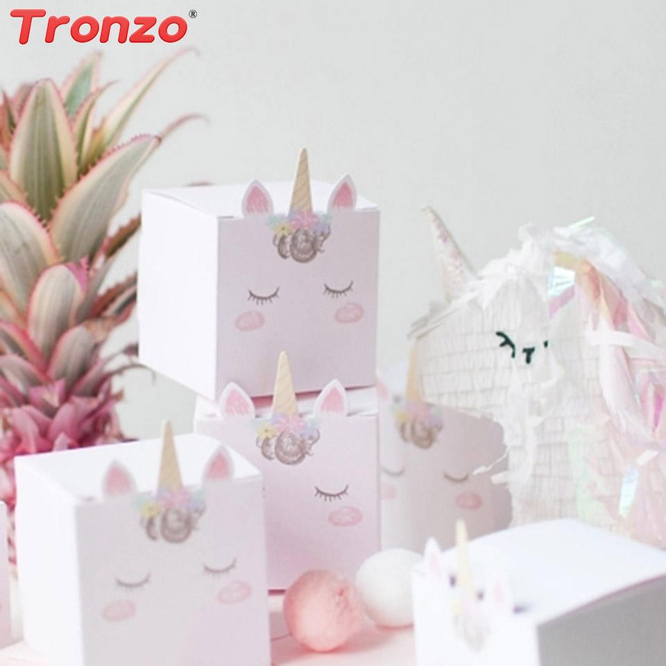 Tronzo DIY Unicorn Candy Box Wedding Favors And Gifts Party Cute Gift Boxes Baby Shower Birthday Buy Wrapping Paper Online