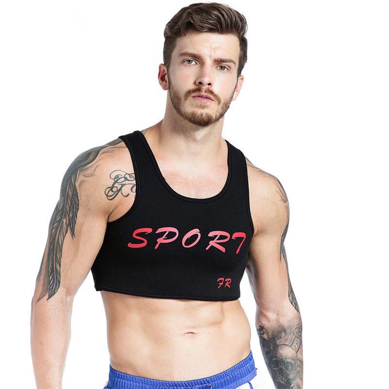 68f12b63818f0 2019 Letter Print Fitness Men Short Tank Tops Solid Slim Casual Sleeveless  Sportswears Vest Sexy Cotton Undershirts Bodybuliding 40%W From Honjiao