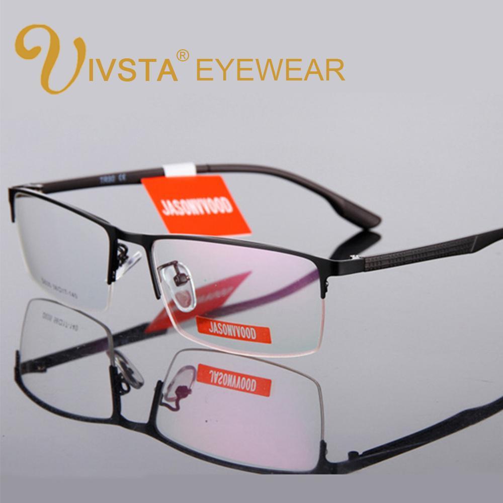 a20d2f16f0 IVSTA Half Rim Optical Glasses Men Glasses Myopia TR90 Reading ...