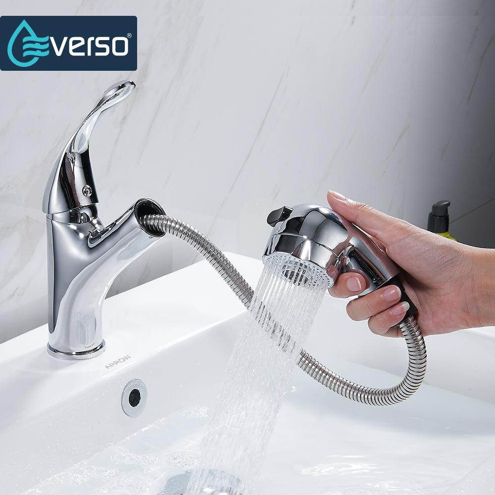 Hot Sale Brass 360 Swivel Kitchen Faucet Pull Out Sink Mixer Tap
