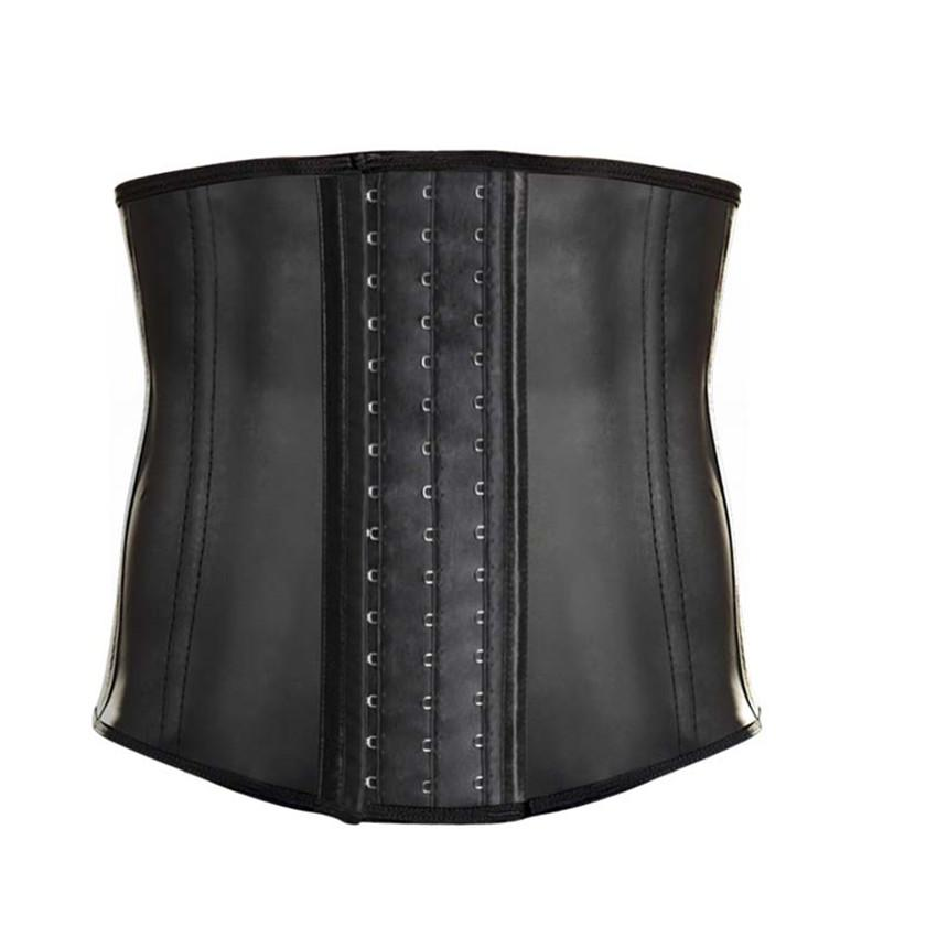 17d296292ff 2019 Abbille Women s Latex Underbust Corset 9 Steel Bones Plus Size Corsets  And Bustiers Waist Trainer Cincher Shapewear 2018 From Cadly