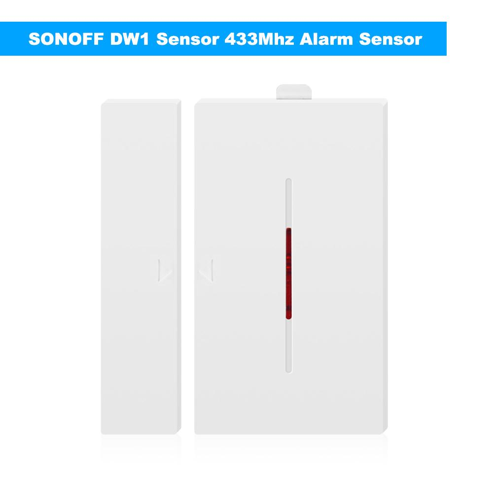 SONOFF 1 Sensor 433Mhz Door Window Alarm Sensor Wireless Automation Anti-Theft Alarm For Smart Home Security System