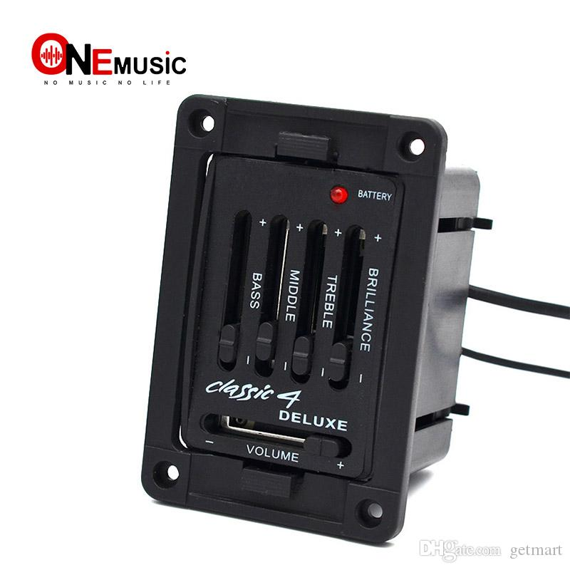Deluxe Class 4 Guitar Preamp 4 Band EQ for Classic Guitar Pickups in ...