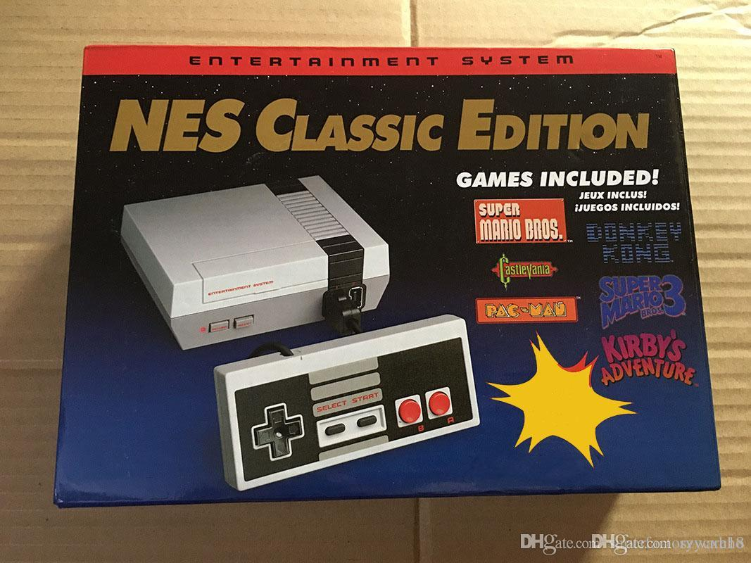 Nes Mini Tv Game Nes Classic Edition Game With Retail Boxes Also
