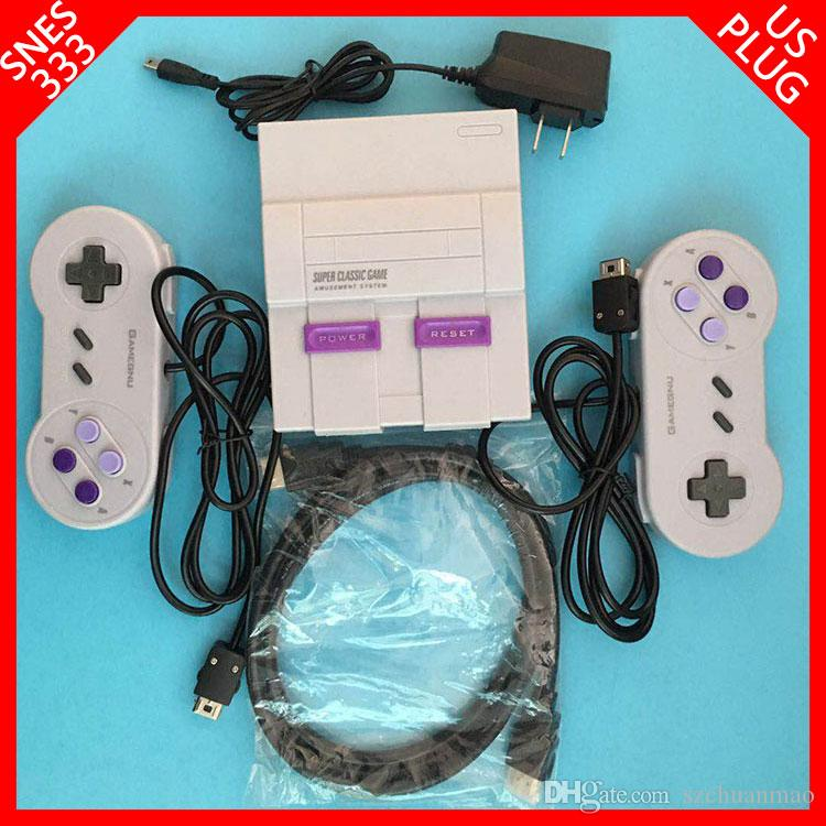 New arrival Mini TV BOX can store 333 console hdmi 8bit-16bit video game  for snes emulator games consoles with retail box by SF EXPRESS