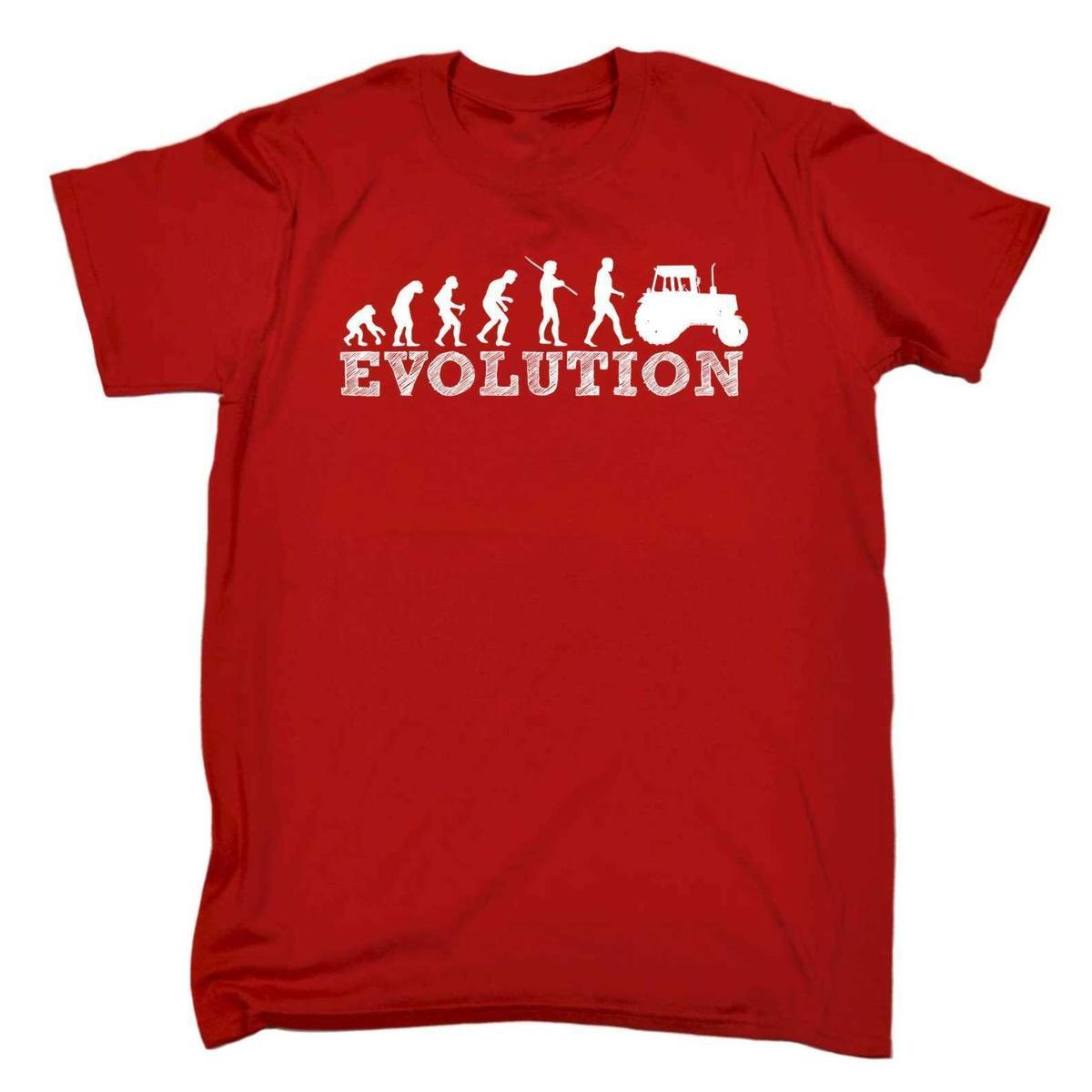 e24fac58 123t Men'S Evolution Tractor Farm Farmer Farming Funny Joke T SHIRT Cool T  Shirt Sites White Designer T Shirts From Lijian18, $12.08| DHgate.Com