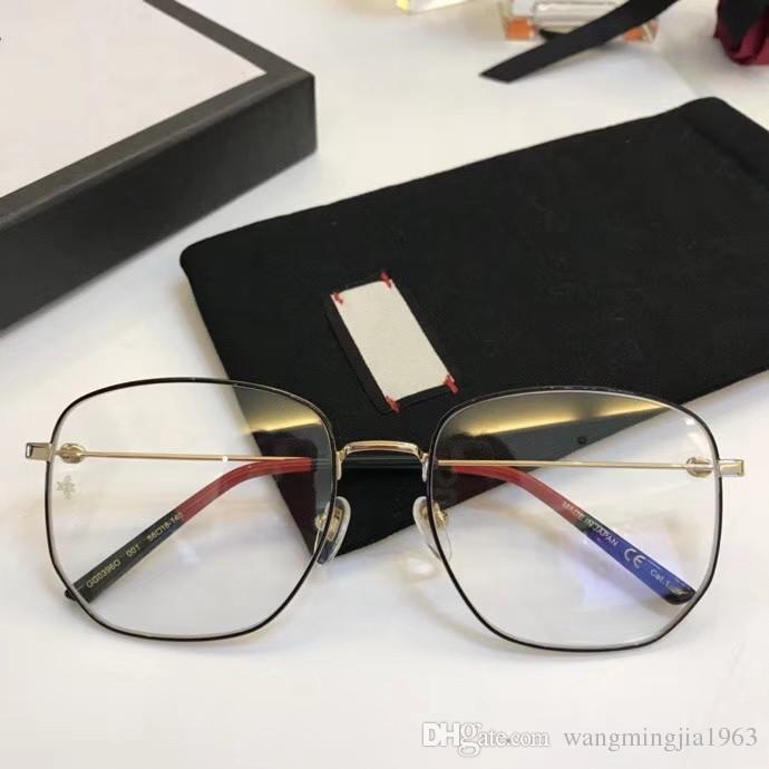 Clair Monture Marque Lentille Nouveau Femmes Lunettes Hommes 0396 Cadre Oculos Designer ynONwvm80