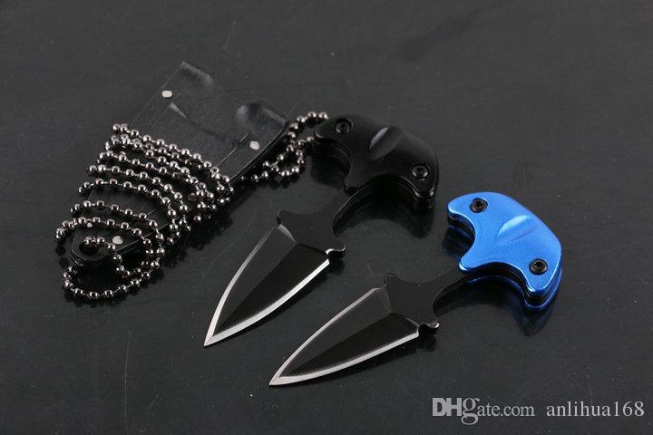 K kılıf ve kolye B283L ile Yeni Soğuk çelik tarzı KENTSEL PAL 43LS küçük Sabit bıçak bıçak karambit çakı taktik bıçak