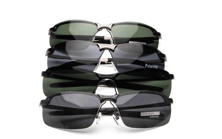 2018 Yeni Yarı Çerçevesiz Lüks Güneş Gözlüğü UV400 Polarize Güneş Gözlüğü Marka Tasarımcı Kadın Erkek Tasarımcı Güneş Gözlükleri ile Kutusu