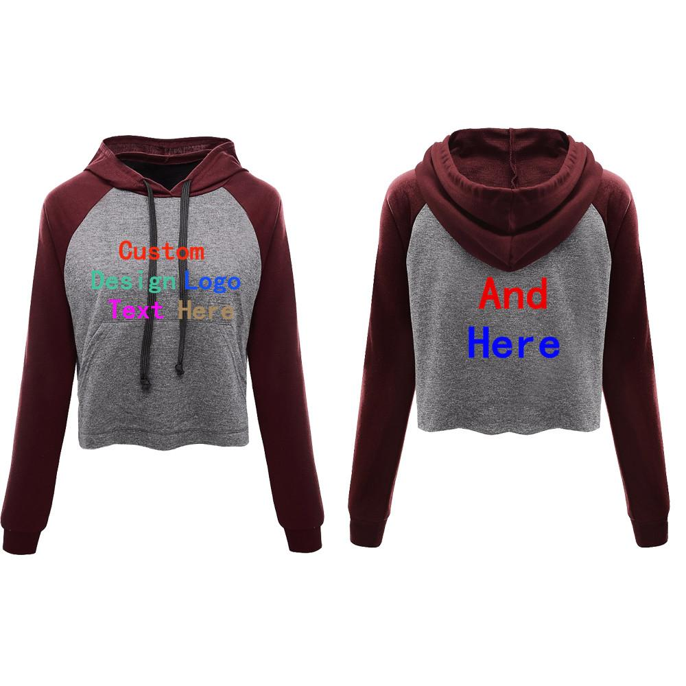 2019 2018 High Quality Women Casual Women Long Sleeve Round Neck Sweatshirt  Customized Hoodies Print Your Own Design Fashion From Amandal 24caffdc6f