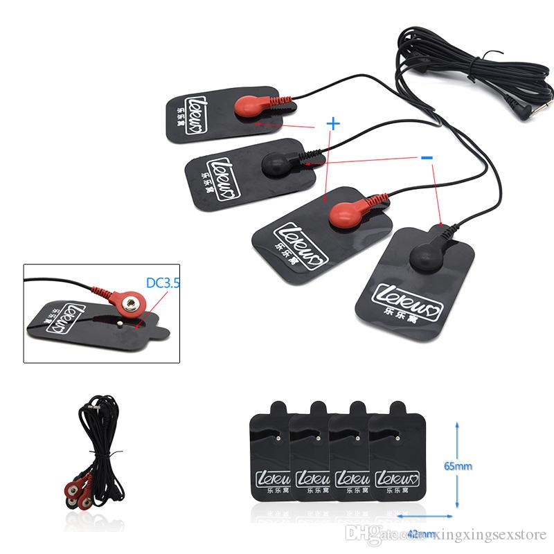 Electro Shock Kits Electric Glove Massage Pads Penis Rings Stimulate Medical Themed Toys Massage Paste SM Play Sex Toys For Men