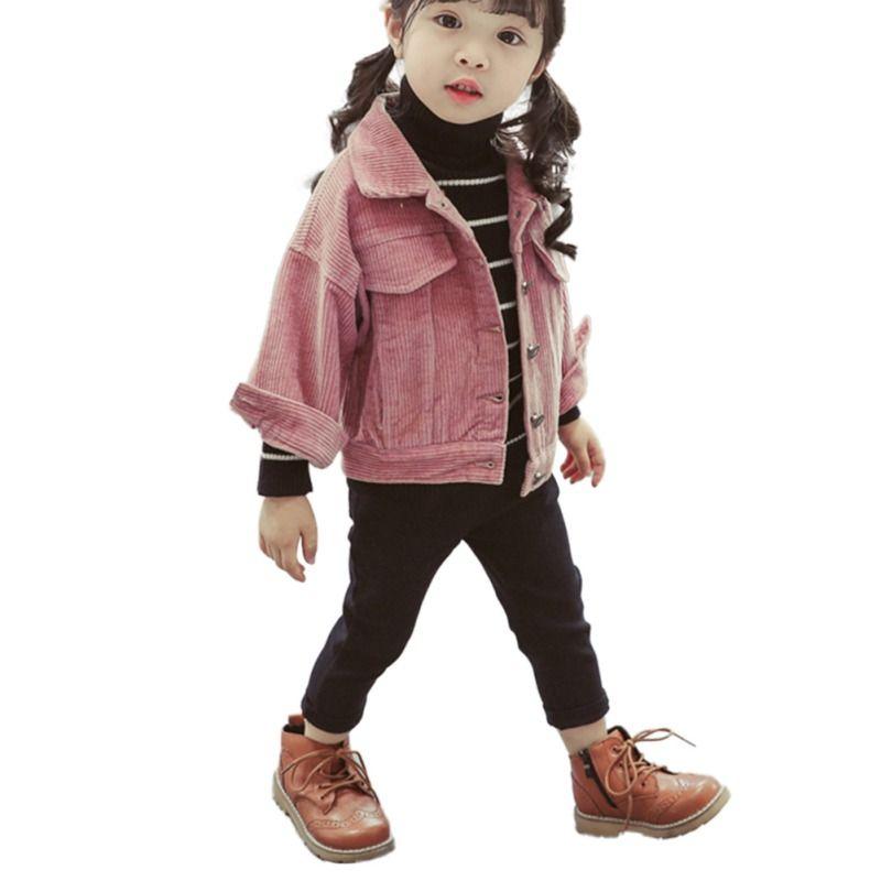 121dd92f0f40 Children  s Jacket Corduroy Girls Jacket Autumn New Outerwear Coats For  Baby Girl Kids Casual Tops 1-6Y New Jackets   Coats Cheap Jackets   Coats  ...