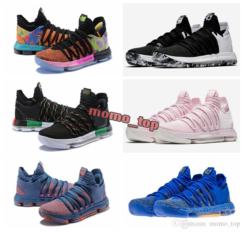 275c47f8c271 New Zoom KD 10 Anniversary University Red Still Kd Igloo BETRUE Oreo Men  Basketball Shoes USA Kevin Durant Elite KD10 Sport Sneakers KDX Shoes  Canada ...