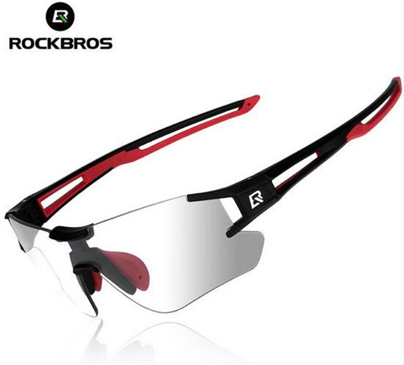 e5a6273f1a5 ROCKBROS Men s Sunglasses MTB Photochromic Cycling Glasses Bike ...