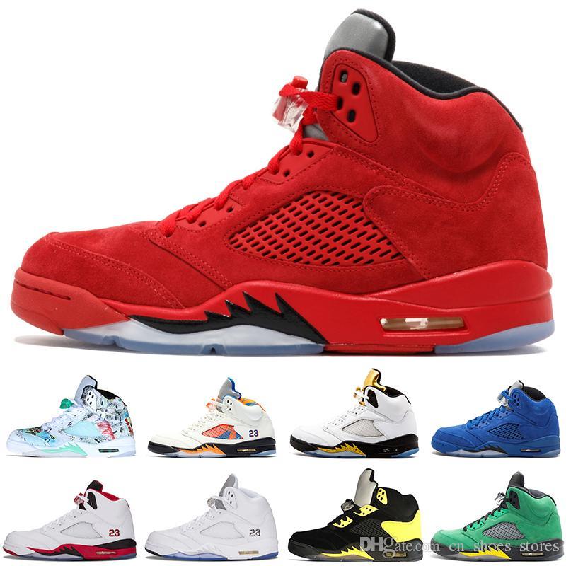 quality design 11fe9 00871 Cheap 5 Basketball Shoes 5s V Men Women Fire Red Wings Cement Oregon Ducks  Olympic Grape OG International Flight Tenni Sport Shoe Sneaker