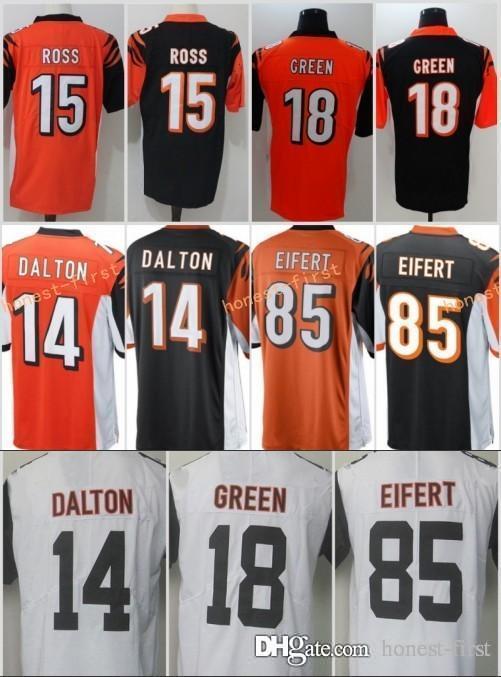 Limited Mens 14 Andy Dalton Cincinnati Jersey Bengals 100% Stitched ... 7b04fd772