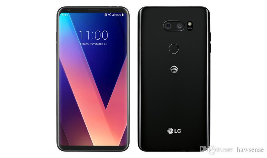 Recuperado Original LG V30 H930 H931 6,0 polegadas Octa Núcleo 4GB RAM 64GB ROM 16MP Desbloqueado 4G LTE Smart Mobile Celular grátis DHL