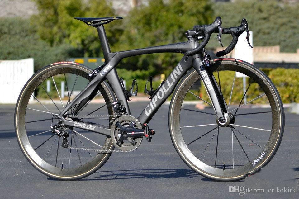 Black Cipollini RB1K THE ONE Diy Carbon Road Full Bike/Complete Bike With R7000 R8000 Groupset For Sale