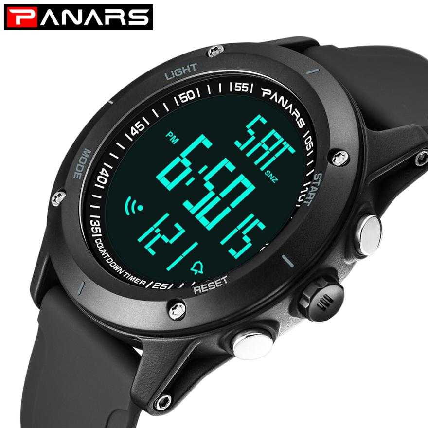 088e35522589 Compre Panars Sport Relojes Para Hombres Fitness Clock G Outdoor Waterproof  Chrono Alarm Running Mens Reloj Digital Led Hours 8014 A  34.41 Del  Qualitywatch ...