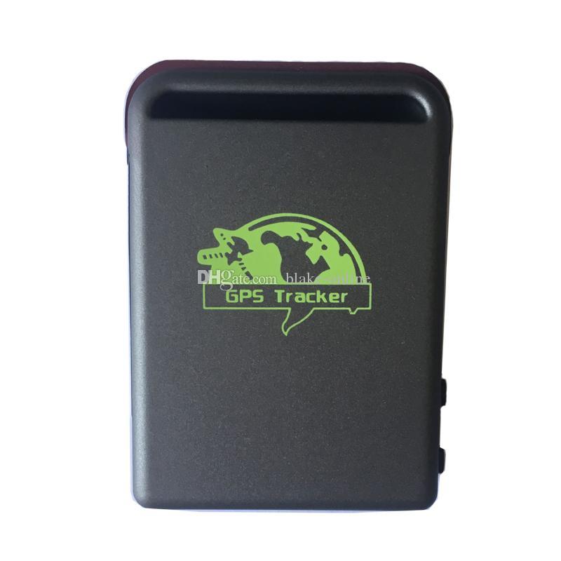 الشخصية السيارات سيارة gps المقتفي tk102 رباعية الموجات العالمية نظام تتبع المركبات عبر الإنترنت tf بطاقة حاليا الوقت الحقيقي gsm / gprs / جهاز gps