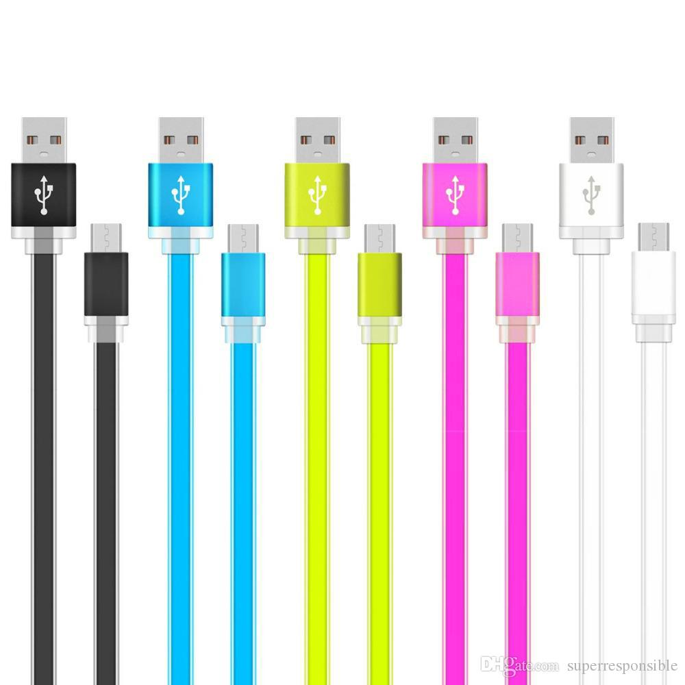 Usb Usb Kabel Usb Ladegerat Kabel Fashion Candy Farben Flache Nudel
