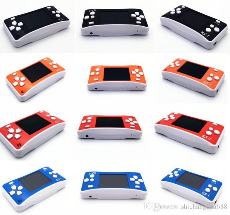 RS-1 Handheld Game Consoles Mini Protable Game Players Color Video Game Children Gifts Classic Games Box Also Sale PXP3 PVP GB NES SFC Games