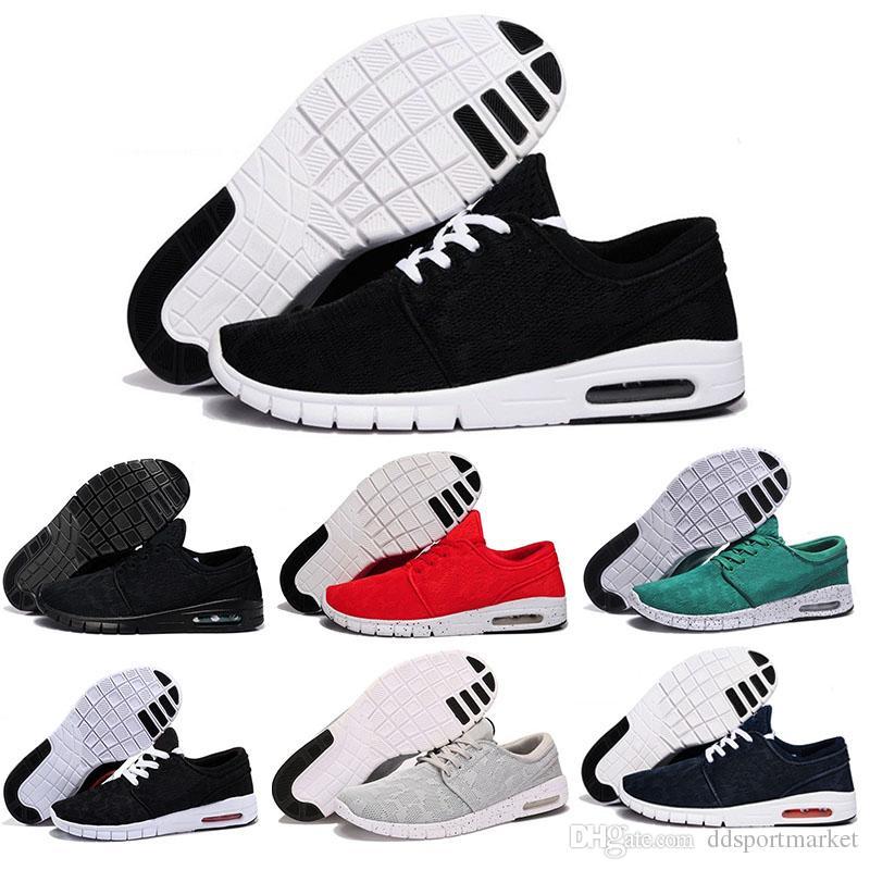 superior quality e3fa0 1a474 Acheter Mode Nike Air Max SB Stefan Janoski Chaussures Chaussures De Course  Pour Femmes Hommes, Haute Qualité Sport Sportif Sneakers Chaussures Taille  Eur ...