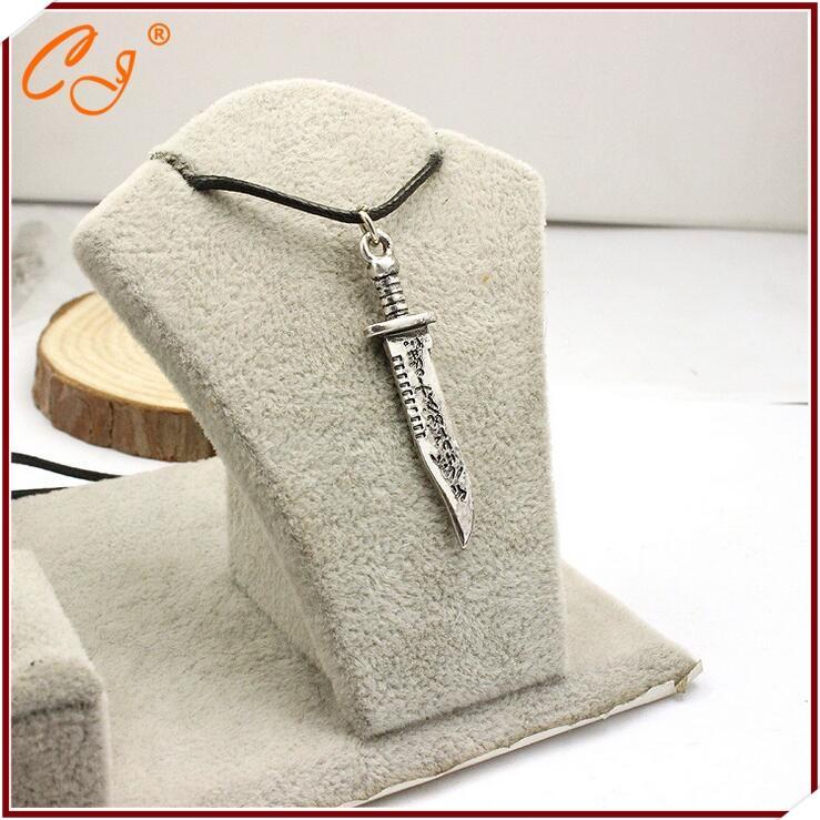 Grosshandel Wholesale Supernatural Messer Messer Lederband Halskette