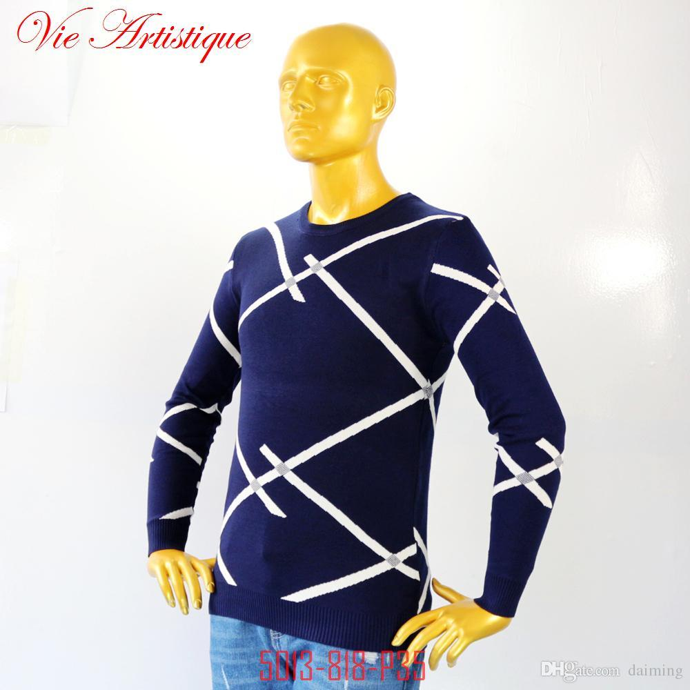Xxxl Kersttrui.2019 Men Winter Sweater Brand Coltrui Heren Eden Park Xxl Mens