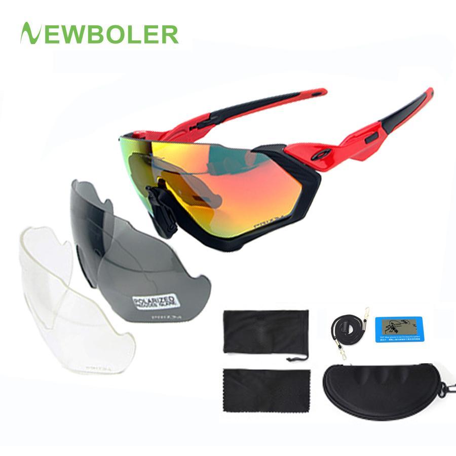 621d44be431e NEWBOLER Polarized Cycling Glasses MTB Road Bike Sunglasses Outdoor ...