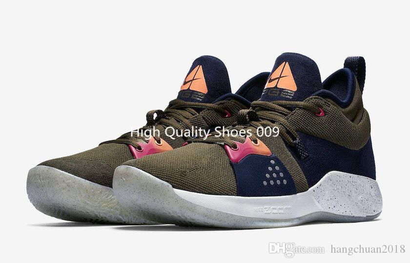 c12865897c9 2018 Newest Mens Paul George 2 PG II Playstation Basketball Shoes Paul  George Cheap Top PG2 2s PlayStation Sneakers Sports SIZE 40 46 Womens  Basketball ...