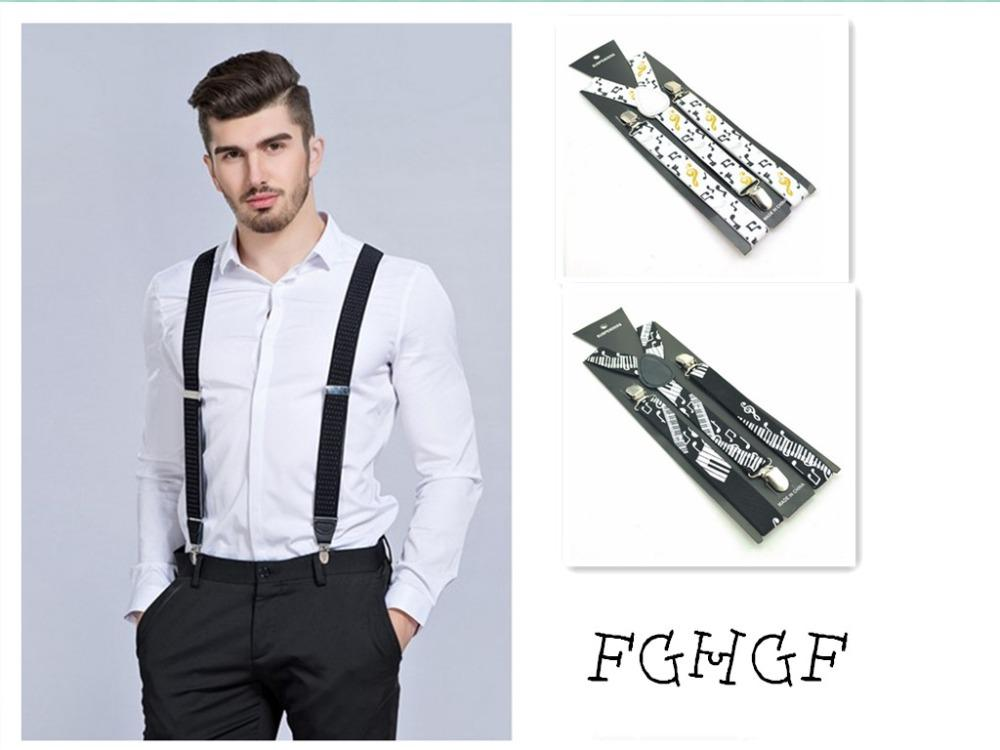 79b0379ea New Mens Womens Unisex Clip-on Suspenders Elastic Y-Shape Adjustable Braces  Colorful For Female Male Fashion Accessory Apparel Suspenders Cheap  Suspenders ...