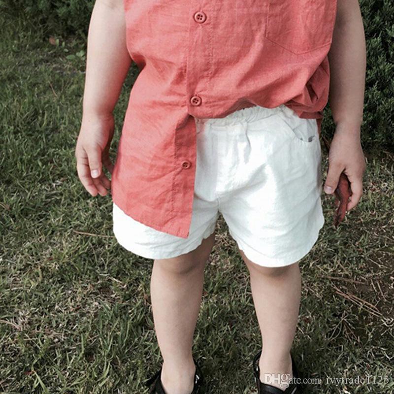 3 가지 스타일 Ins New Baby Shorts 유아 소년 소녀 솔리드 컬러 짧은 여름 아기 어린이 느슨한 신생아 comfortale 부티크 속옷 의류