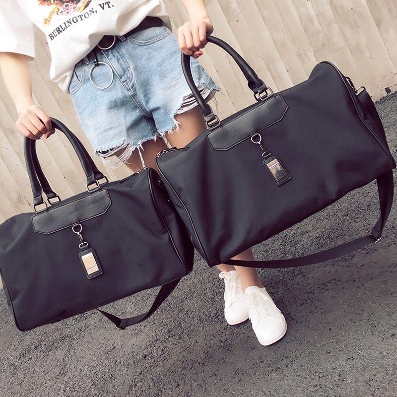 bd2fe5e5e30b Popular Brand Designer Duffel Bags Large Capacity Fashion Casual Shoulder  Bags Short Journey Business Travel Bags Unisex Small Big Handbags Beach Bags  ...