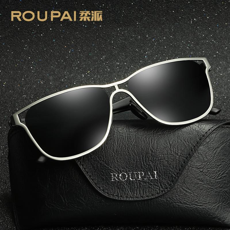 Compre Gafas De Sol Polarizadas Roupai Gafas De Sol Para Hombre Gafas De Sol  Masculinas Para Hombres Gafas De Sol De Lujo Retro 400 Uv Brand Designer A  ... eeb55ce100