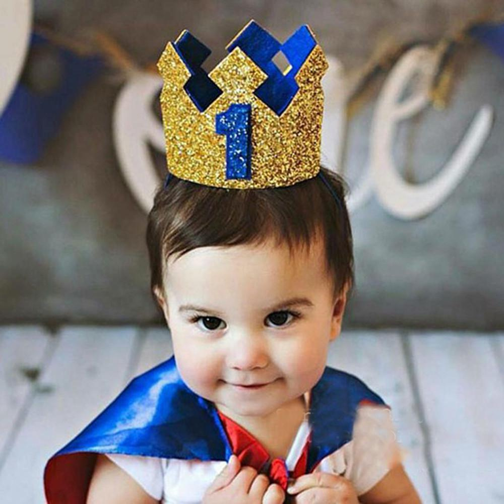 Compre 1 UNID Accesorios Para La Cabeza Hairband Elástico Bebé Brithday  Party Retrato Número Niños Corona Sombrero Recién Nacido Corona Niño  Príncipe ... e26beabe20d