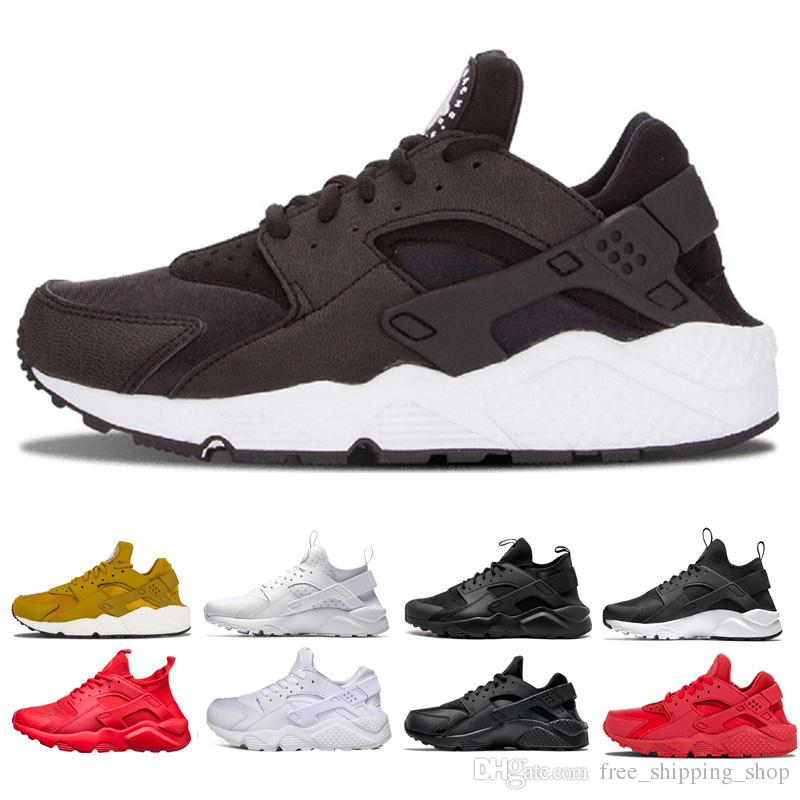 eec582388937 Design Huarache 4.0 1.0 Ultra Trainner Shoes For Mens Women Black White Red  Grey Gold Colorful Shoes Sneakers Athletic Running Shoe Sports Shoes For  Women ...
