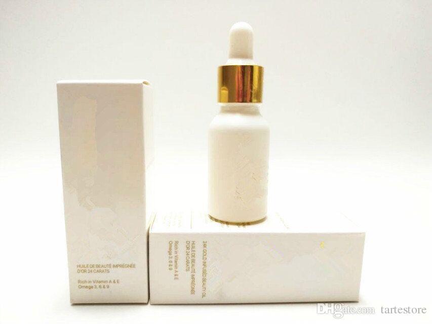 Famous Brand Makeup 24k Rose Gold Elixir Essential Oil foundation Moisturizing Face Skin Care Essence Cosmetic