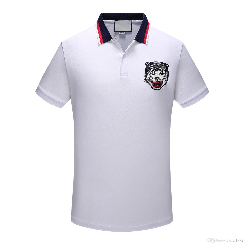New Summer Famous Brand Boys High Grade Printing Polo Shirt Short